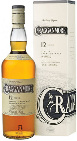 Cragganmore Scotch Single Malt 12 Year
